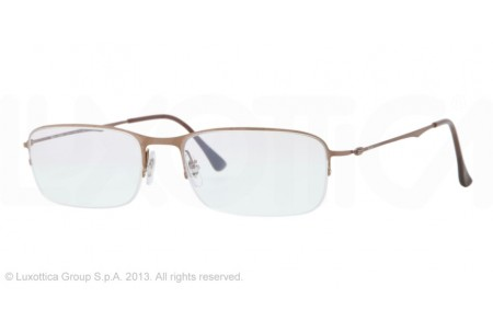Ray-Ban 0RX8714 1157 BRUSCHED BROWN