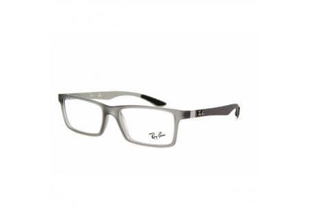 Ray-Ban 0RX8901 5244 DEMI GLOSS GREY