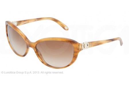 Tiffany  0TF4045 80463B STRIPED BROWN