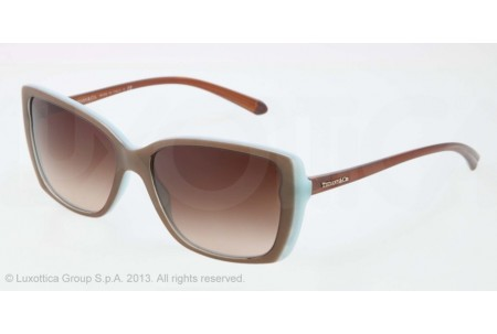 Tiffany  0TF4079 81683B LIGHT BROWN/SHOT/BLUE