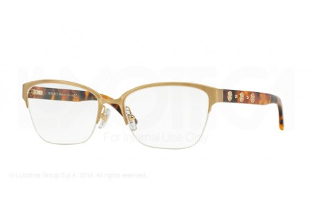 Versace  0VE1224 1352 BRUSHED GOLD