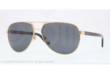 Versace  0VE2142 100281 GOLD POLARIZED
