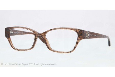 Versace  0VE3172 991 LIZARD BROWN