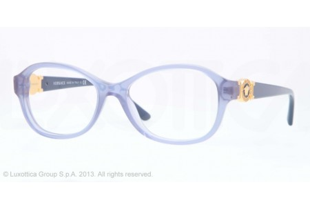 Versace  0VE3185 5055 TRANSPARENT BLUE