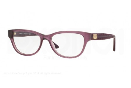 Versace  0VE3204 5029 MATTTE TRANSPARENT VIOLET