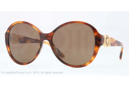 Versace  0VE4261 163/73 STRIPED HAVANA
