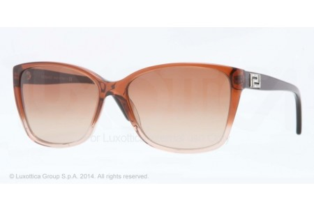 Versace  0VE4268B 509113 DARK BROWN TRANSP/BROWN TRANSP
