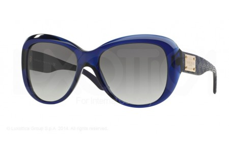 Versace  0VE4285 512511 TRANSPARENT DARK BLUE